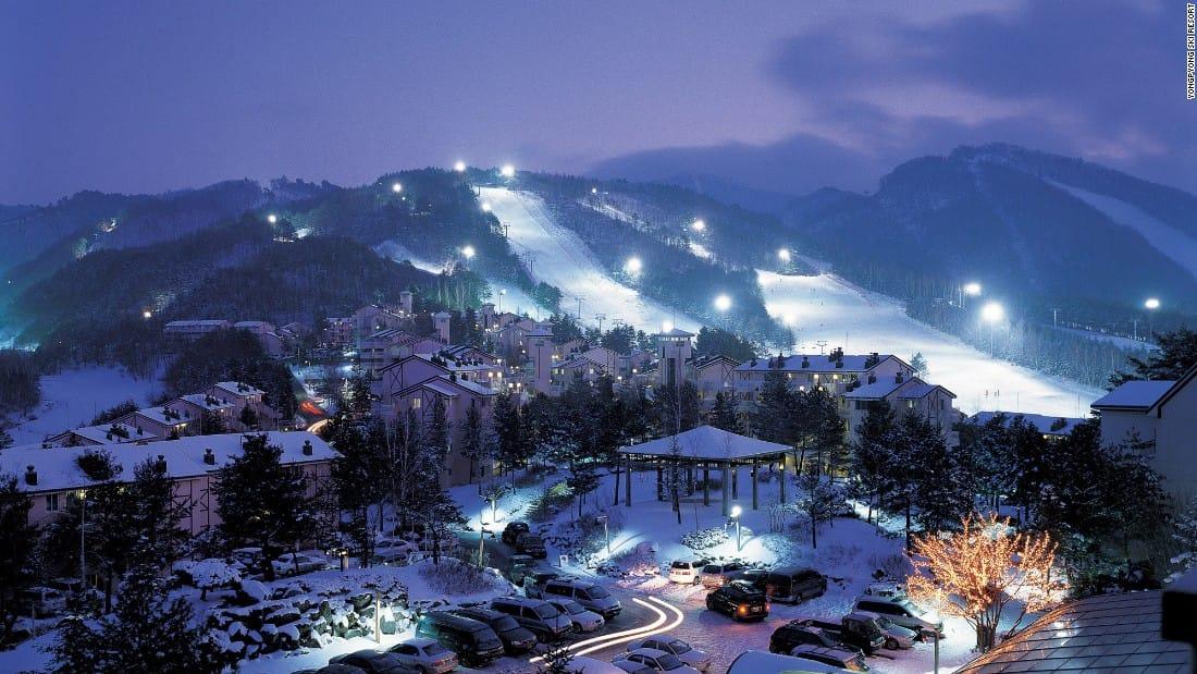 Yongpyong Ski Resort Pyeongchang