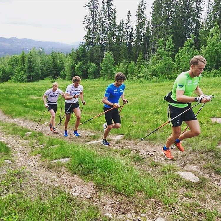 Training In Alpe De Siusi